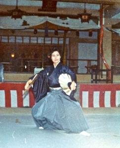 Japanes fan dance