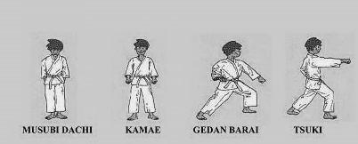 karate heian left