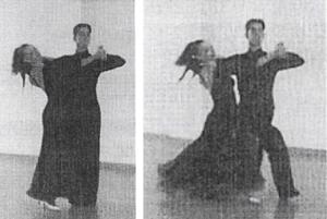 left foot dancing