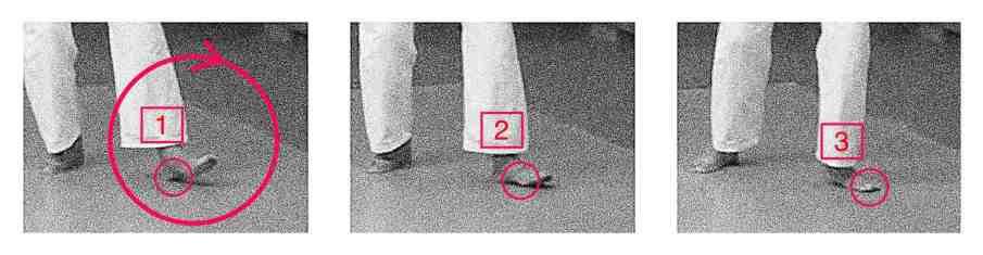 3-part foot