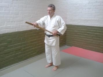 Using bokken